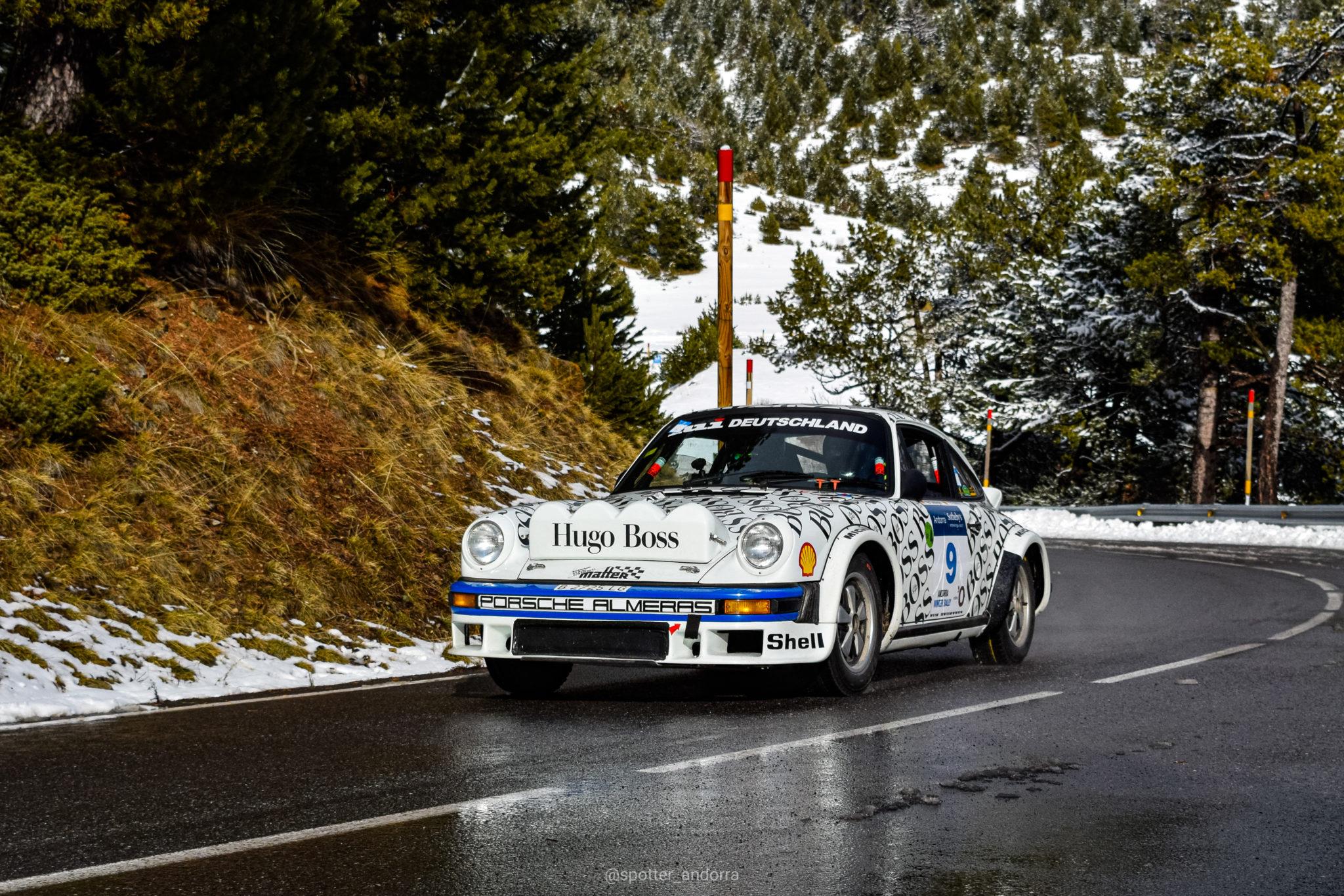 Fotografía del Car Spotter Ds-photocars del Porsche Classic Series organizado por Rallyclassic en Andorra