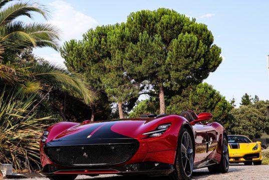 Frontal Ferrari Monza SP2