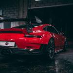 Porche GT3 RS en Shelter Garage