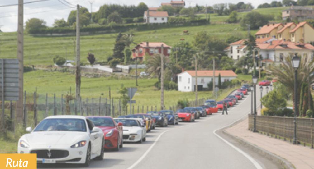52 Supercars en Ruta