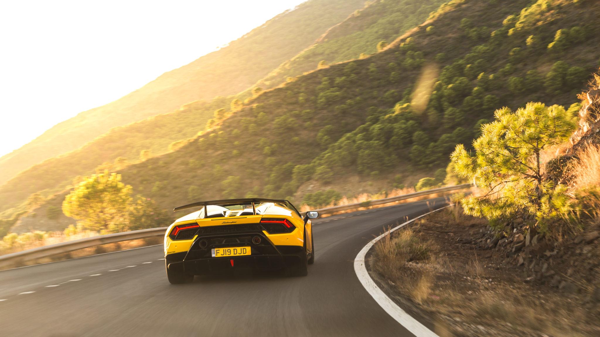 Lamborghini Huracán Performante fotografiado por Q.Martinez