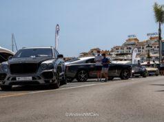 Exhibición Magna Supercars Cohen Cars en Puerto Banús