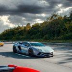 Lamborghini Aventador SVJ en ruta