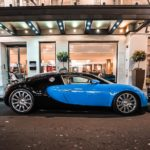 Bugatti Veyron en el hotel