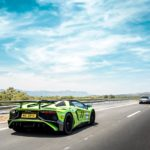 Lamborghini Aventador SV en ruta