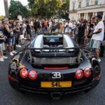Bugatti Veyron llegando a Londres llegada Yiannimize Grand Tour 2019