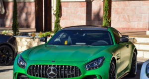 Mercedes AMG GTR en 6to6 Meeting Ribera del Duero