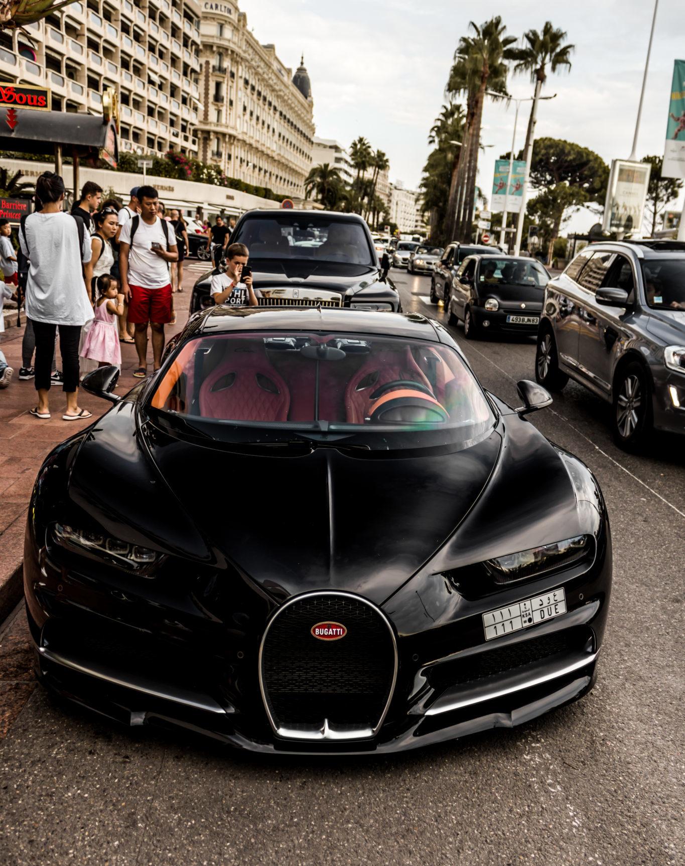 Bugatti Chiron fotografiado por el Car Spotter Álvaro Muro