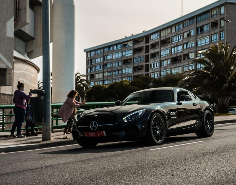 Mercedes Benz AMG GTR en SDC 2020