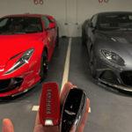 Ferrari 812 Superfast y Aston Martin DBS Superleggera