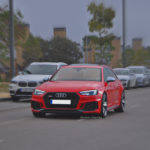 Audi RS4 en la Salida Thetraced
