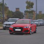 Audi RS4 en la Salida Thetraced