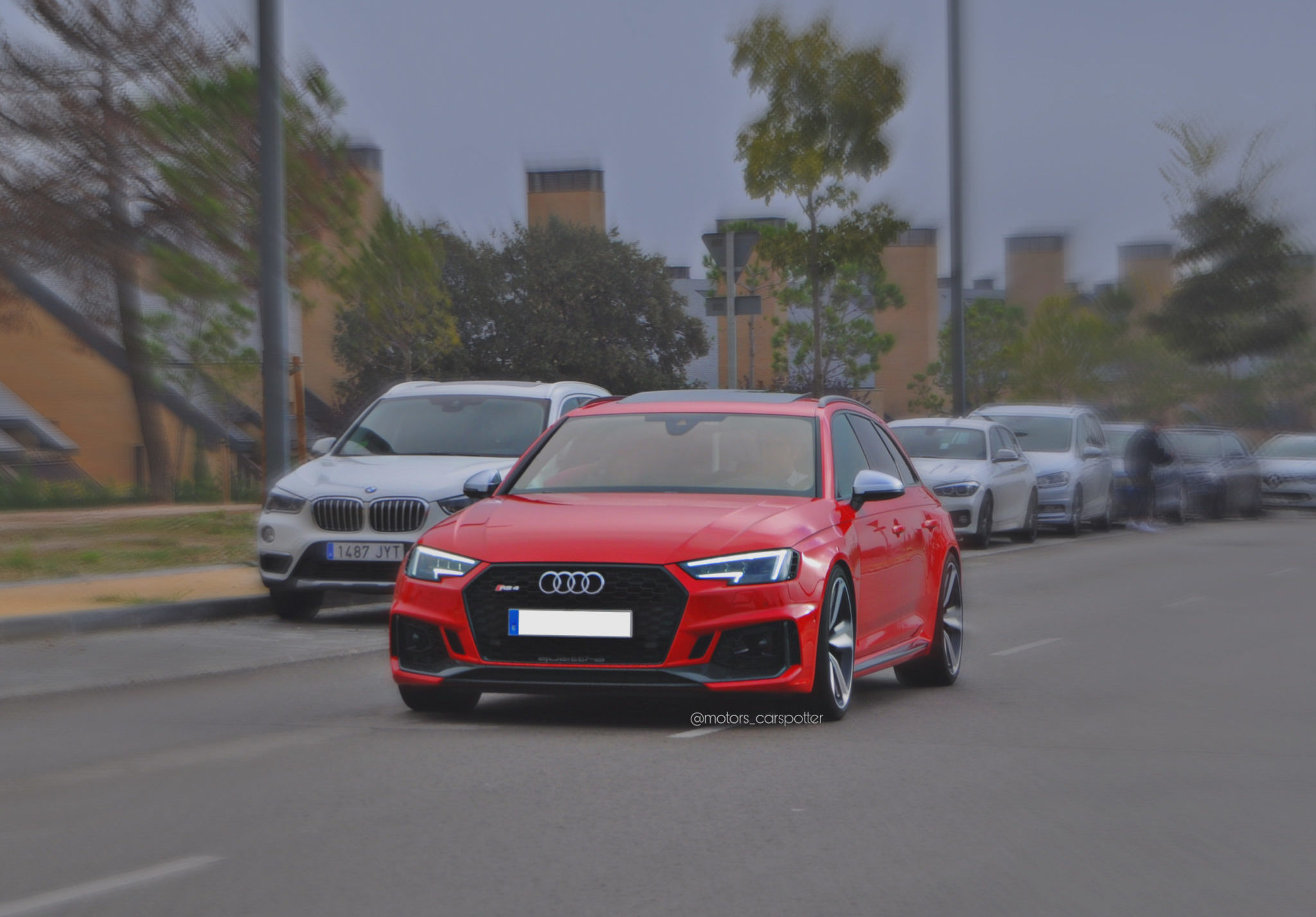 Audi RS4 Salida Thetraced