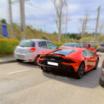 Lamborghini Huracán en la Salida Thetraced