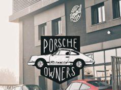 Concentración Porsche Owners en Revival Café