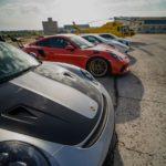 Parking Porsches